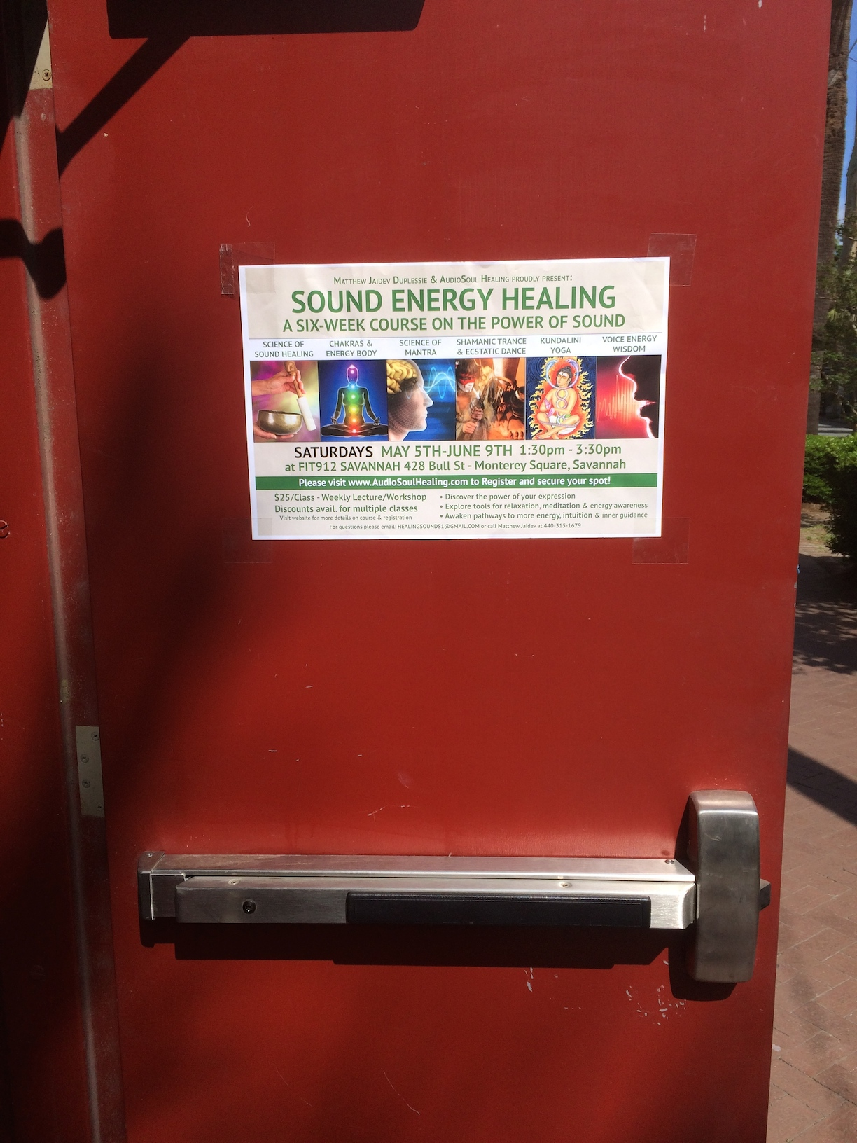 Sound Energy Healing Flyer